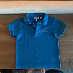 Lacoste Petite Pique Polo : Blue